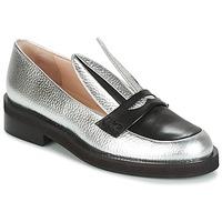 鞋子 女士 皮便鞋 Minna Parikka LONG EARS 银灰色