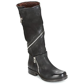 鞋子 女士 都市靴 Airstep / A.S.98 SAINT EC ZIP 黑色