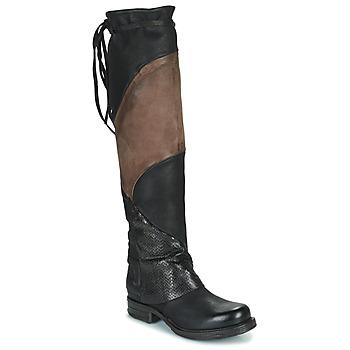 鞋子 女士 绑腿 Airstep / A.S.98 SAINT EC PATCH 黑色