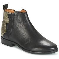 鞋子 女孩 短筒靴 Adolie ODEON WILD 黑色 / Platinum