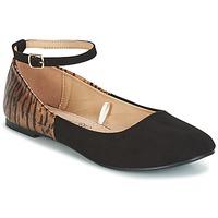 鞋子 女士 平底鞋 Moony Mood GLIMY 黑色