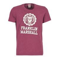 衣服 男士 短袖体恤 Franklin & Marshall GRAVI 波尔多红