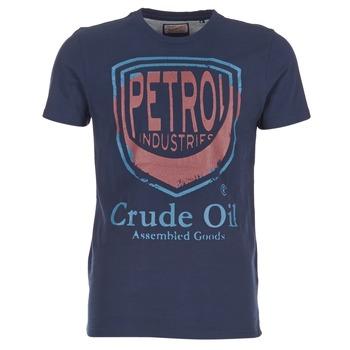 衣服 男士 短袖体恤 Petrol Industry TIRCO 海蓝色