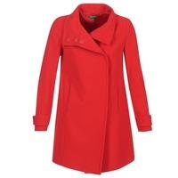 衣服 女士 大衣 Benetton MERCRA 红色