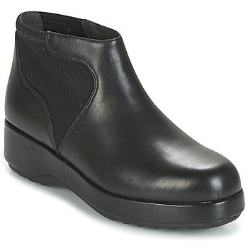 鞋子 女士 短筒靴 Camper 看步 DESSA 黑色