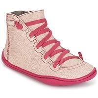鞋子 女孩 高帮鞋 Camper 看步 PEU CAMI 玫瑰色