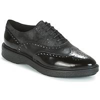 鞋子 女士 德比 Geox 健乐士 D PRESTYN 黑色