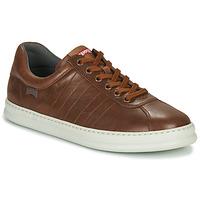 鞋子 男士 球鞋基本款 Camper 看步 RUNNER 4 棕色