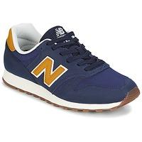 鞋子 球鞋基本款 New Balance新百伦 ML373 蓝色 / 黄色