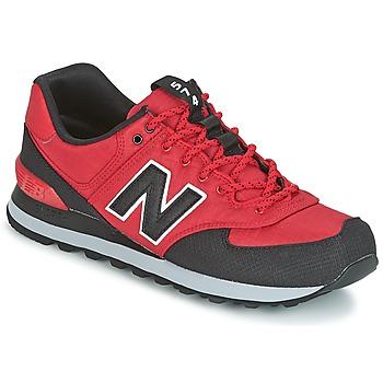 鞋子 男士 球鞋基本款 New Balance新百伦 ML574 红色