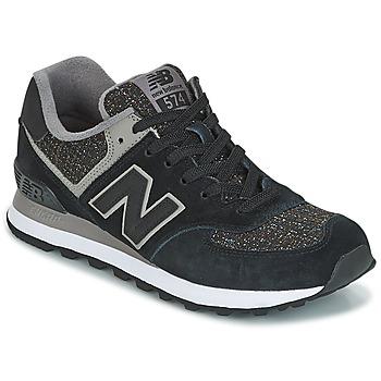 鞋子 女士 球鞋基本款 New Balance新百伦 WL574 黑色