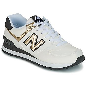 鞋子 女士 球鞋基本款 New Balance新百伦 WL574 白色