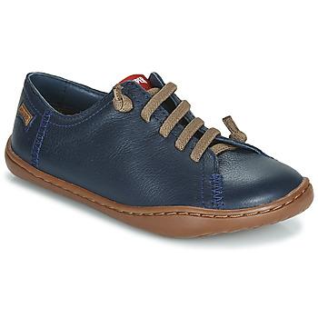 鞋子 男孩 德比 Camper 看步 PEU CAMI 海蓝色