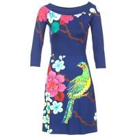 衣服 女士 短裙 Desigual MARTA 蓝色