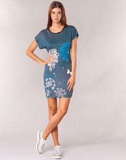 衣服 女士 短裙 Desigual MARTI 蓝色