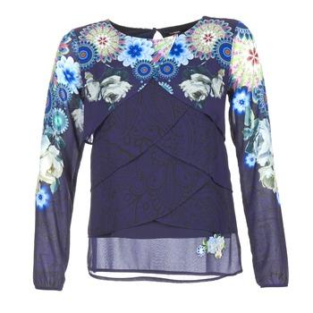 衣服 女士 女士上衣/罩衫 Desigual TAMA 蓝色