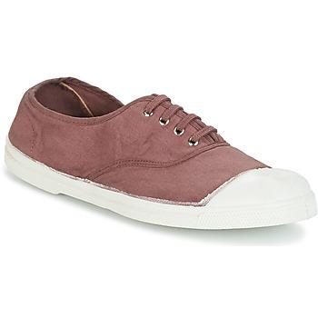 鞋子 女士 球鞋基本款 Bensimon TENNIS LACET 李子色