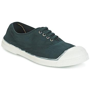 鞋子 女士 球鞋基本款 Bensimon TENNIS LACET 绿色 / Fonce