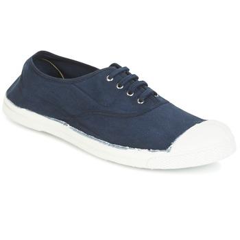 鞋子 男士 球鞋基本款 Bensimon TENNIS LACET 海蓝色