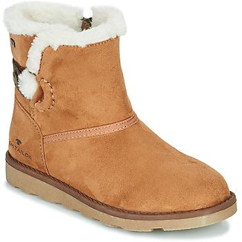 鞋子 女孩 短筒靴 Tom Tailor 汤姆裁缝 JAVILOME 棕色
