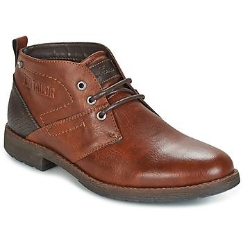 鞋子 男士 短筒靴 Tom Tailor 汤姆裁缝 LAORA 棕色
