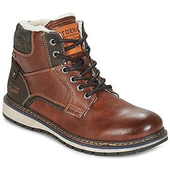 鞋子 男士 短筒靴 Tom Tailor 汤姆裁缝 LORENZA 棕色