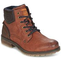 鞋子 男士 短筒靴 Tom Tailor 汤姆裁缝 TIAGO 棕色