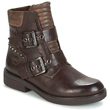 鞋子 女士 短筒靴 Marco Tozzi POUDREE 棕色
