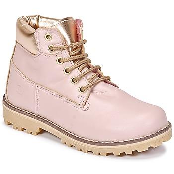 鞋子 女孩 短筒靴 Citrouille et Compagnie HICHOU 玫瑰色