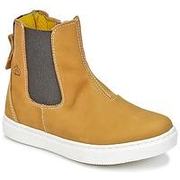鞋子 男孩 短筒靴 Citrouille et Compagnie HACHOU 棕色
