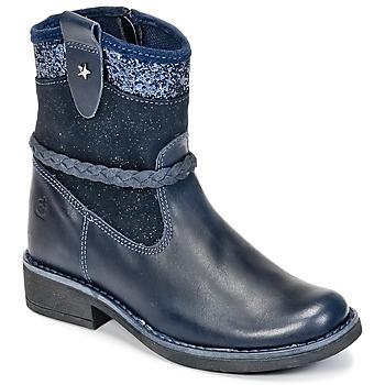 鞋子 女孩 短筒靴 Citrouille et Compagnie HAYO 蓝色