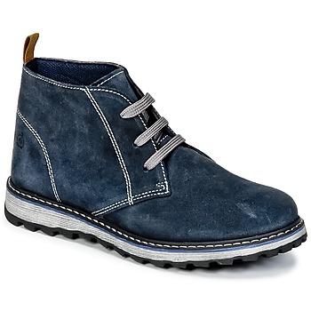鞋子 男孩 短筒靴 Citrouille et Compagnie HISEO 海蓝色