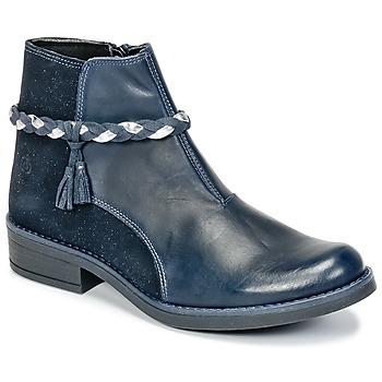 鞋子 女孩 短筒靴 Citrouille et Compagnie HOCEA 蓝色