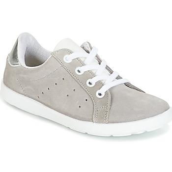 鞋子 女孩 球鞋基本款 Citrouille et Compagnie HINETTE 灰色 / 银灰色