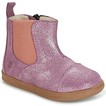 鞋子 女孩 短筒靴 Citrouille et Compagnie HUETTE 玫瑰色