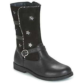鞋子 女孩 都市靴 Citrouille et Compagnie HANDRE 黑色