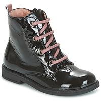 鞋子 女孩 短筒靴 Citrouille et Compagnie HEMANU 黑色 / 玫瑰色