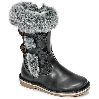 鞋子 女孩 都市靴 Citrouille et Compagnie HOSY 黑色