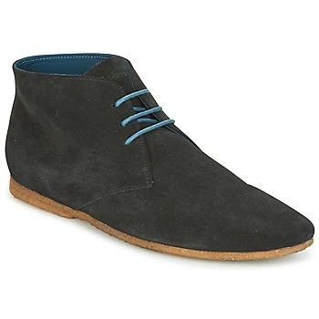鞋子 男士 短筒靴 Schmoove CREPS DESERT 黑色