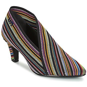 鞋子 女士 短靴 United nude FOLD LITE MID 黑色 / 多彩