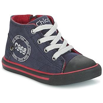 鞋子 男孩 高帮鞋 Chicco CRITTER 海蓝色 / 黑色 / 红色