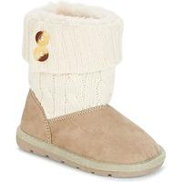 鞋子 女孩 短筒靴 Chicco CHARME 米色 / 棕色