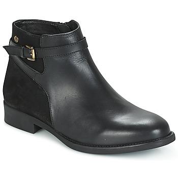 鞋子 女士 短筒靴 Hush puppies 暇步士 CRISTY 黑色