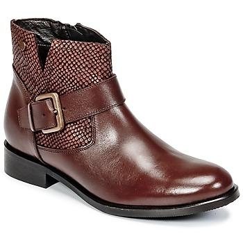 鞋子 女士 短筒靴 Hush puppies 暇步士 DORAN 棕色 / Fonce