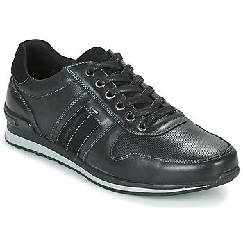 鞋子 男士 球鞋基本款 Hush puppies 暇步士 PISHUP 黑色