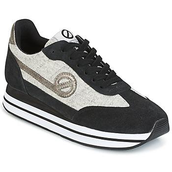 鞋子 女士 球鞋基本款 No Name EDEN JOGGER 黑色 / 灰色