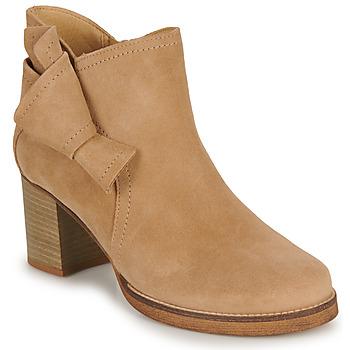 鞋子 女士 短靴 Casual Attitude HIRCHE 米色