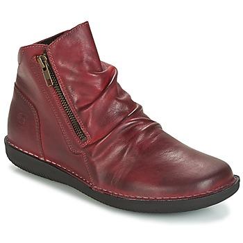 鞋子 女士 短筒靴 Casual Attitude HERMINA 波尔多红