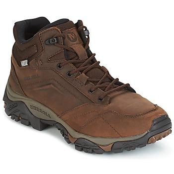 鞋子 男士 登山 Merrell 迈乐 MOAB VENTURE MID WTPF 棕色