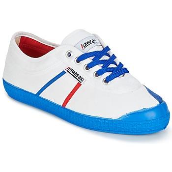 鞋子 男士 球鞋基本款 Kawasaki 川崎凌风 BASIC FANTASY 白色 / 蓝色